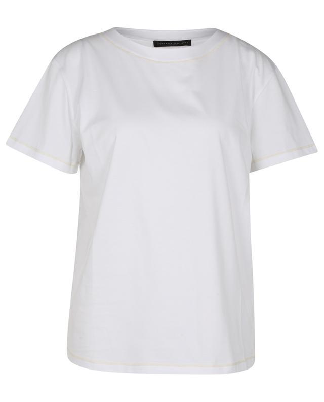 T-shirt ample en jersey et cachemire TERRA FABIANA FILIPPI