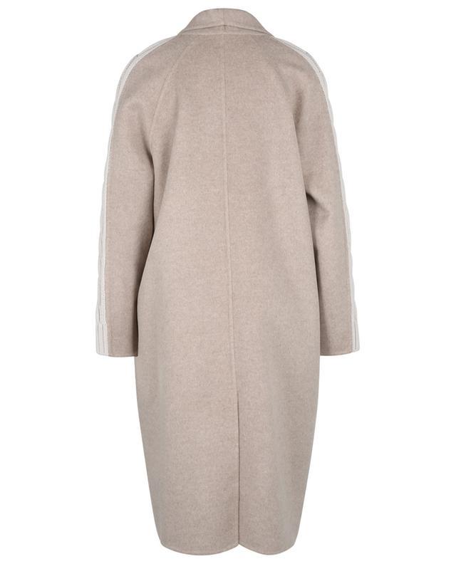 Manteau en feutre à manches raglan en maille torsadée FABIANA FILIPPI