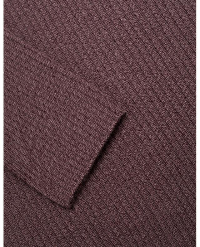 Pull chaussette en maille fine, mélange de laine, soie et cachemire FABIANA FILIPPI