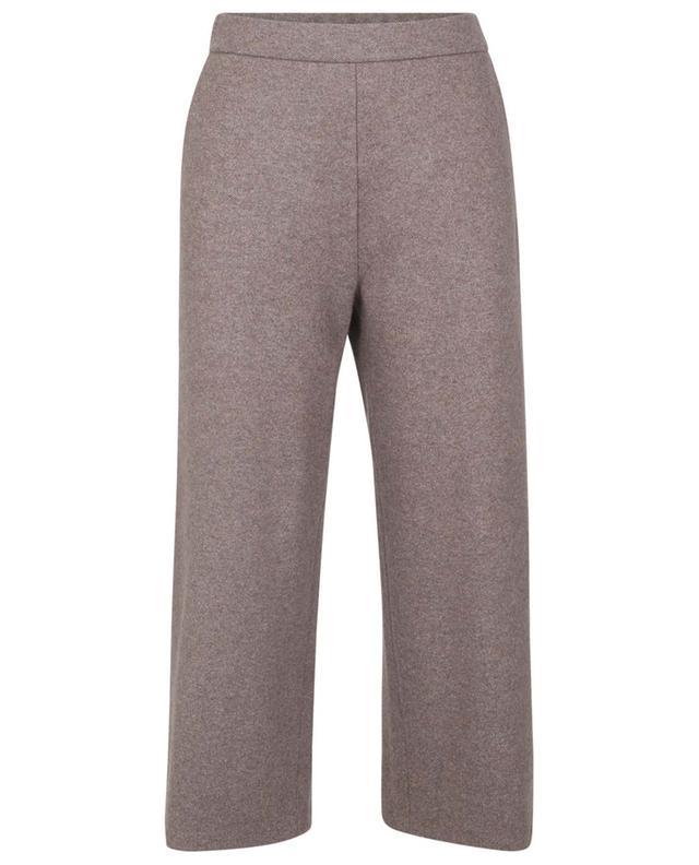 Pantalon raccourci large taille haute en maille FABIANA FILIPPI