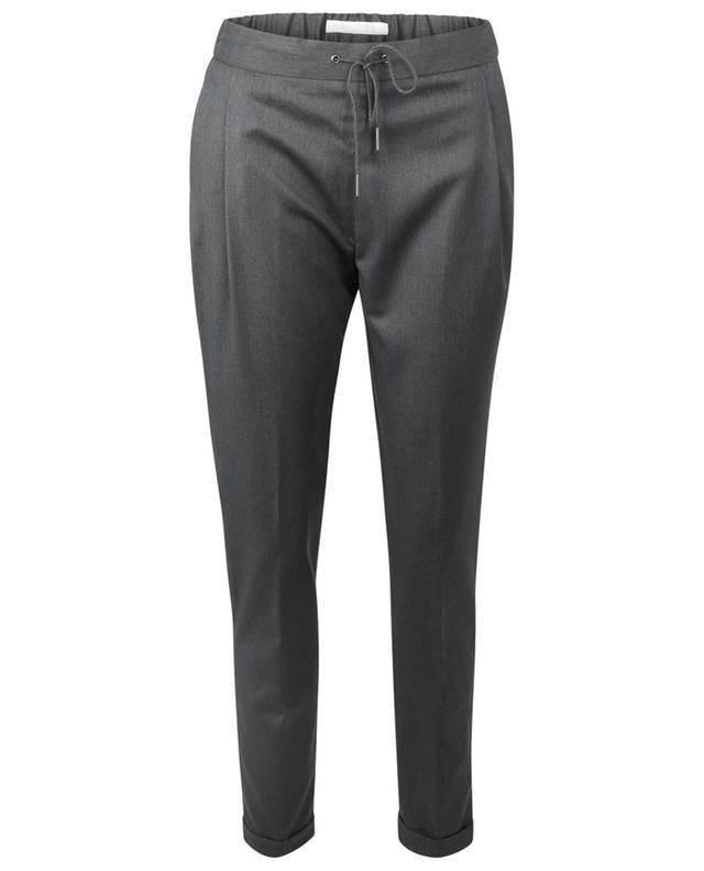 Pantalon droit raccourci en laine Spello FABIANA FILIPPI