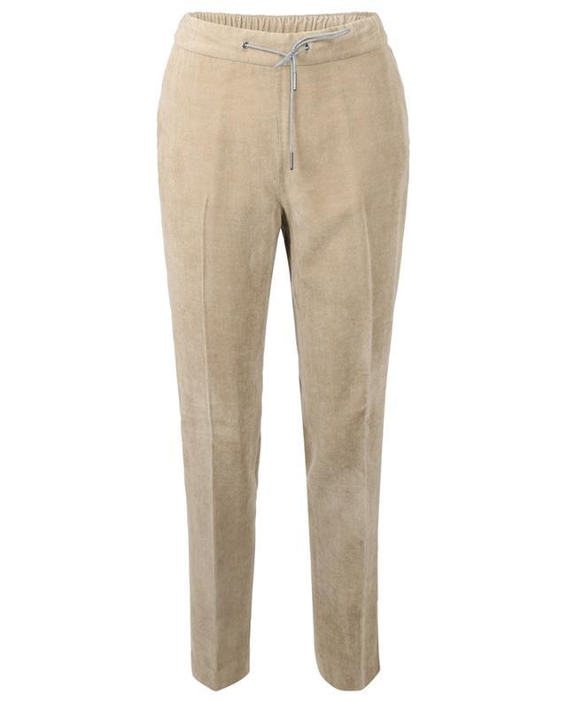 Pantalon Jogging Fit fuselé en velours côtelé FABIANA FILIPPI