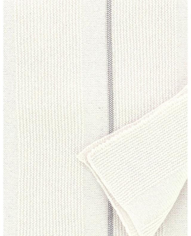 Écharpe en maille rayée à perles FABIANA FILIPPI