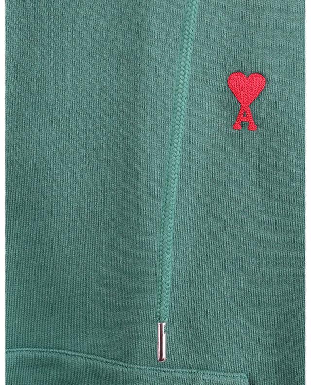 Sweat-shirt à capuche en coton bio Ami De Coeur AMI