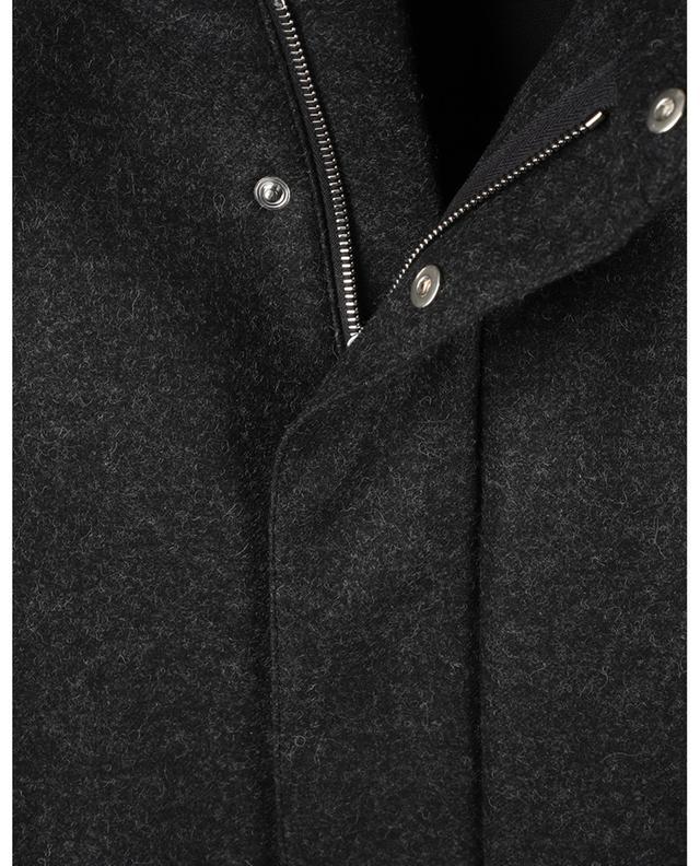 Parka en laine mélangée à capuche Benoit A.P.C.