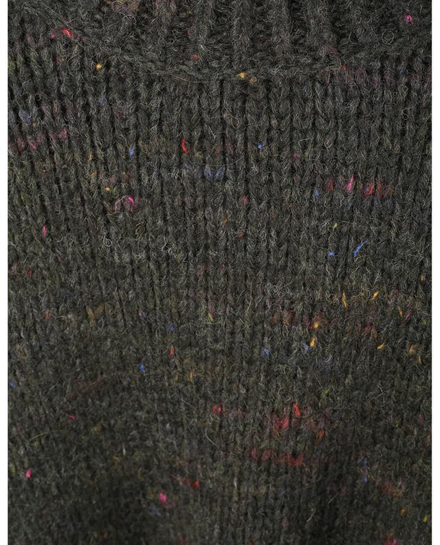 Pull chiné coloré à col rond en alpaga Fred A.P.C.