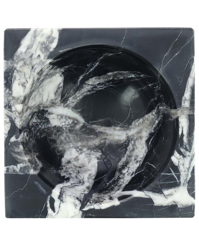 Bol carré en marbre noir Block STONED