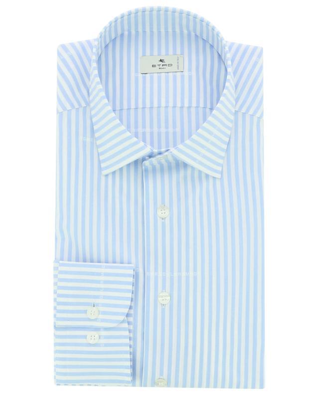 Chemise rayée motif logo jacquard ETRO