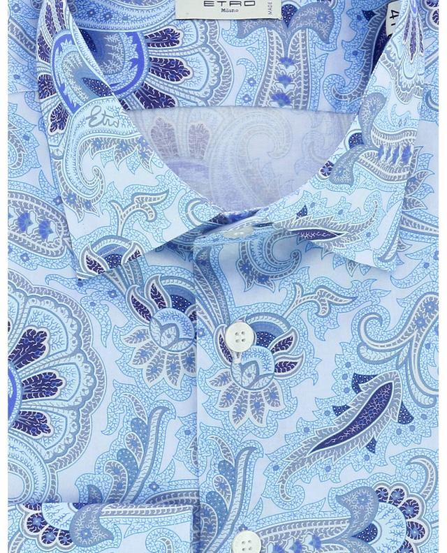 Chemise en coton à l'imprimé oriental ETRO
