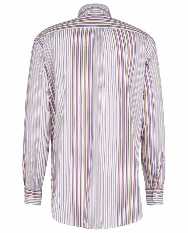 Chemise à rayures multicolores en coton Comfort Fit ETRO