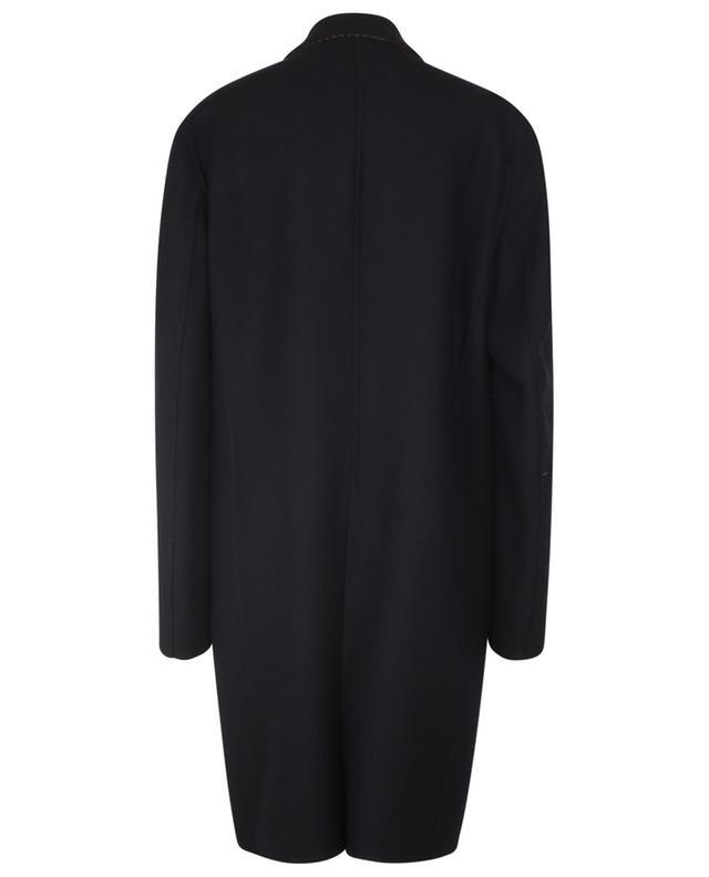 Manteau réversible en sergé de laine à boutonnage simple ETRO