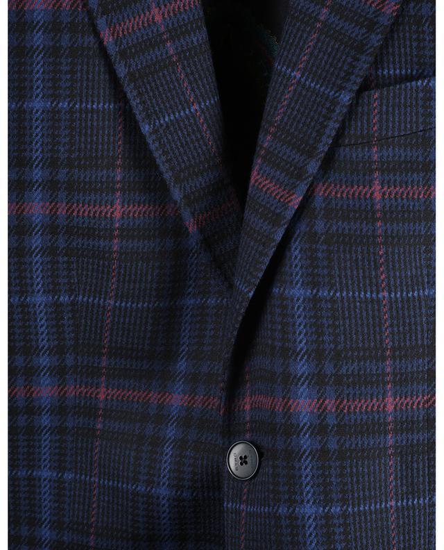 Blazer en jersey à boutonnage simple prince-de-galles ETRO