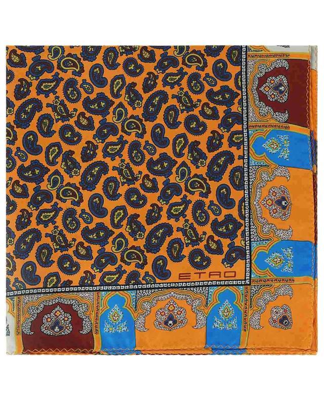 Pochette imprimée détails Paisley et cardre Bangalore ETRO