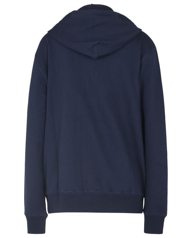 Sweat-shirt zippé à capuche brodé blason ETRO
