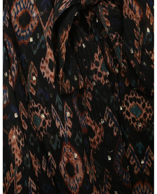 Jupe à pans pointus motifs Ikat Nehir ULLA JOHNSON