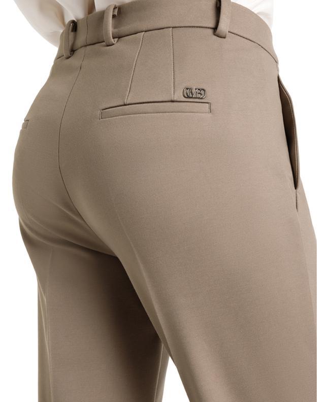 Pantalon droit ajusté en jersey Milano Krystal CAMBIO
