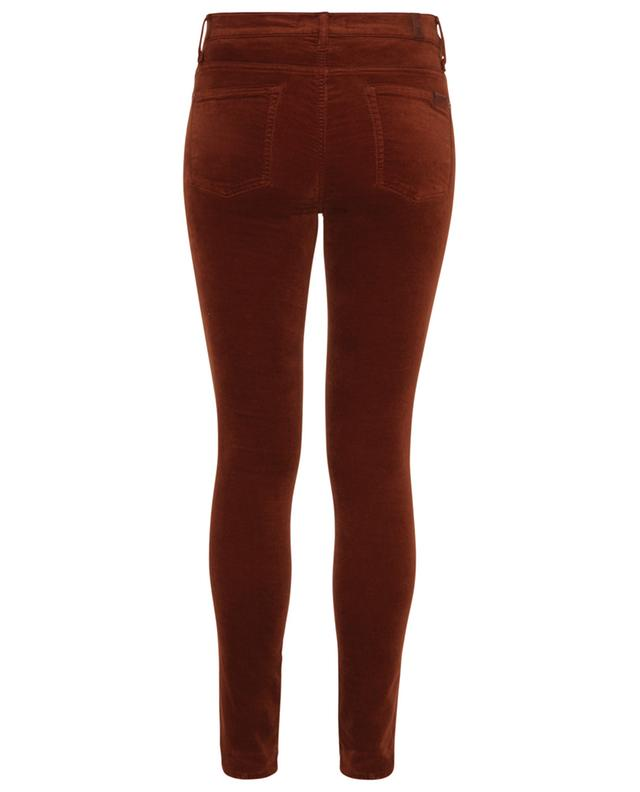 Jean en velours High-Rise Skinny Cinnamon 7 FOR ALL MANKIND