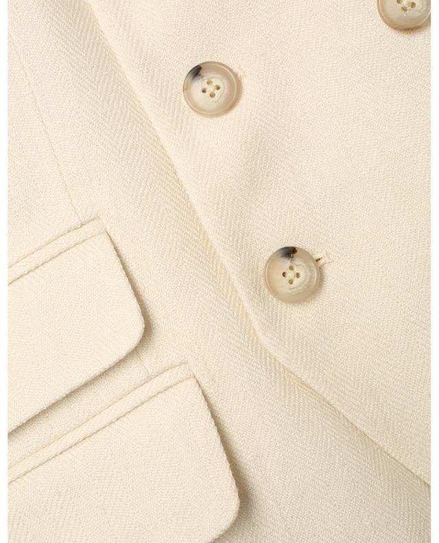 Blazer à boutonnage double en tweed POLO RALPH LAUREN