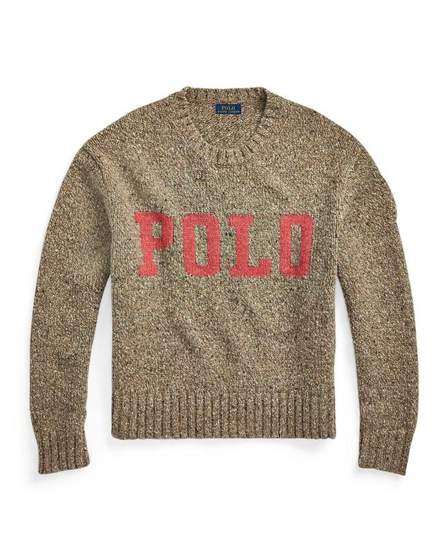 Pull à col rond motif logo POLO POLO RALPH LAUREN