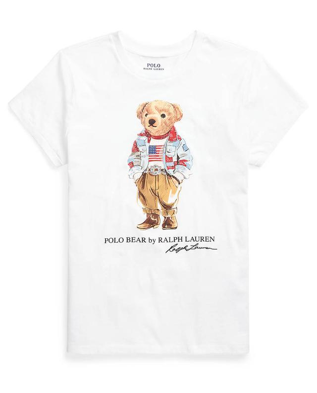T-shirt en jersey imprimé Bandana Polo Bear POLO RALPH LAUREN