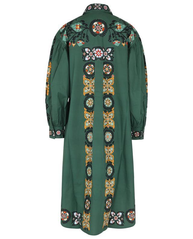 Robe chemise midi Big Shirt Suzany Placée LA DOUBLEJ