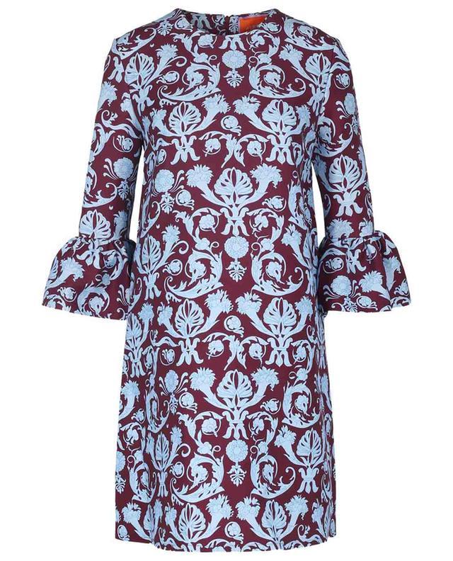 Mini robe ample en cady de laine 24/7 Brocade LA DOUBLEJ