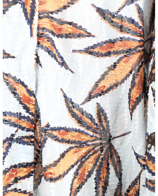Blouse en voile de coton fil coupé Fantasy Leaves DOROTHEE SCHUMACHER
