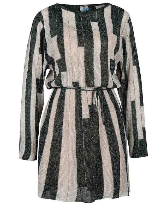 Mini robe en maille rayée scintillante M MISSONI