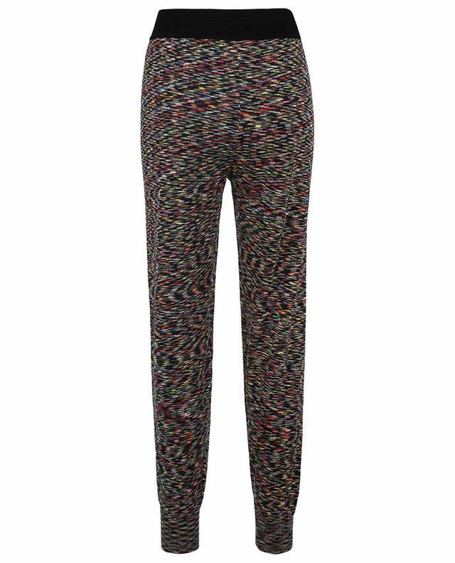 Pantalon de jogging en maille à rayures multicolores M MISSONI