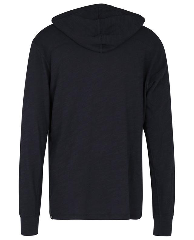 Sweat-shirt à capuche léger en coton flammé Salute RAG & BONE