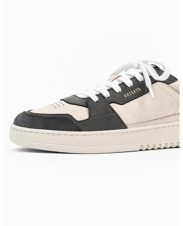 Baskets en cuir blanc crème et noir Ace A AXEL ARIGATO