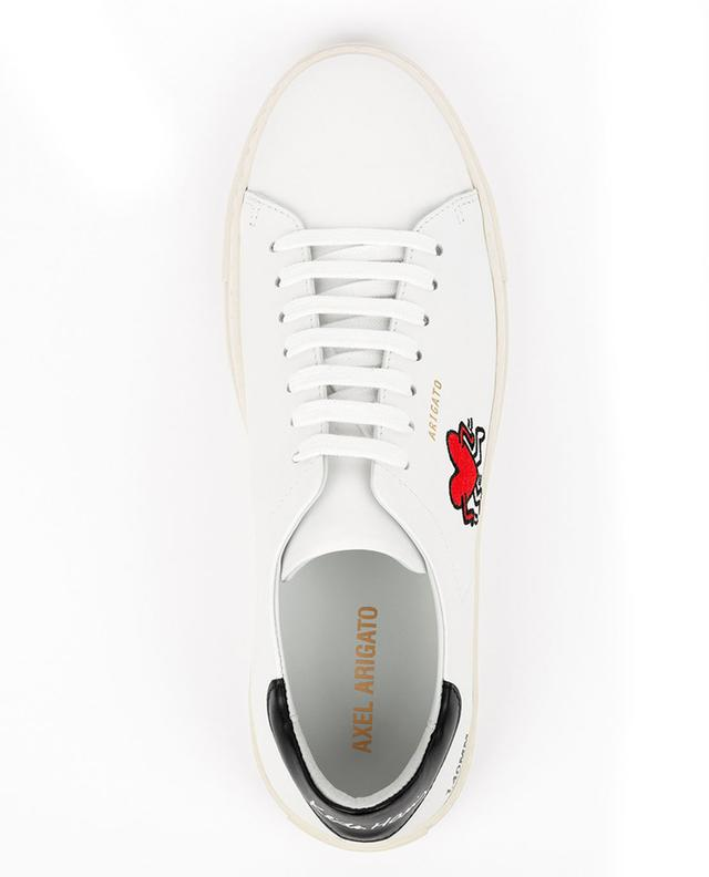 Baskets à lacets en cuir Clean 90 Keith Haring AXEL ARIGATO