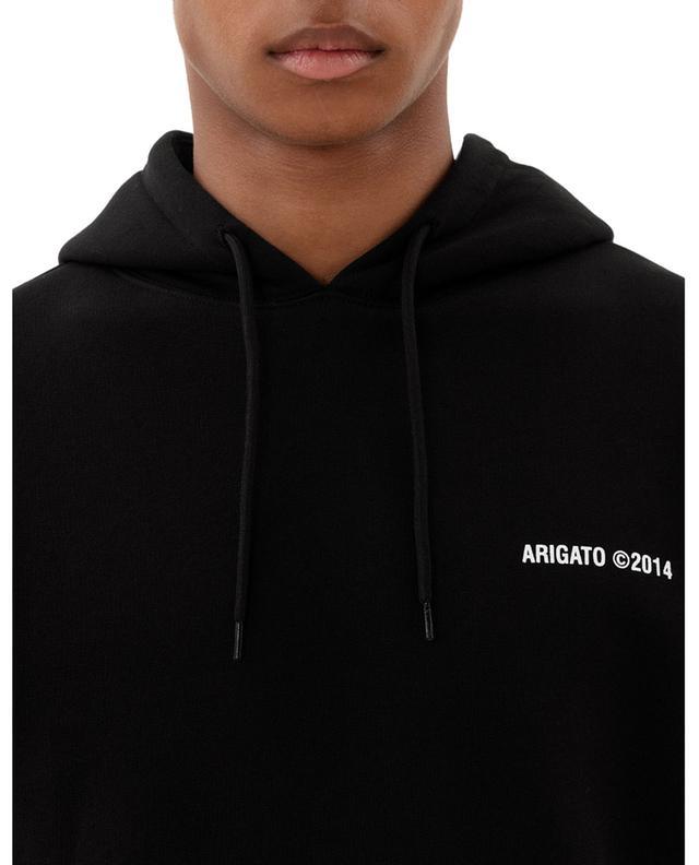 Sweat-shirt à capuche brodé logo London AXEL ARIGATO