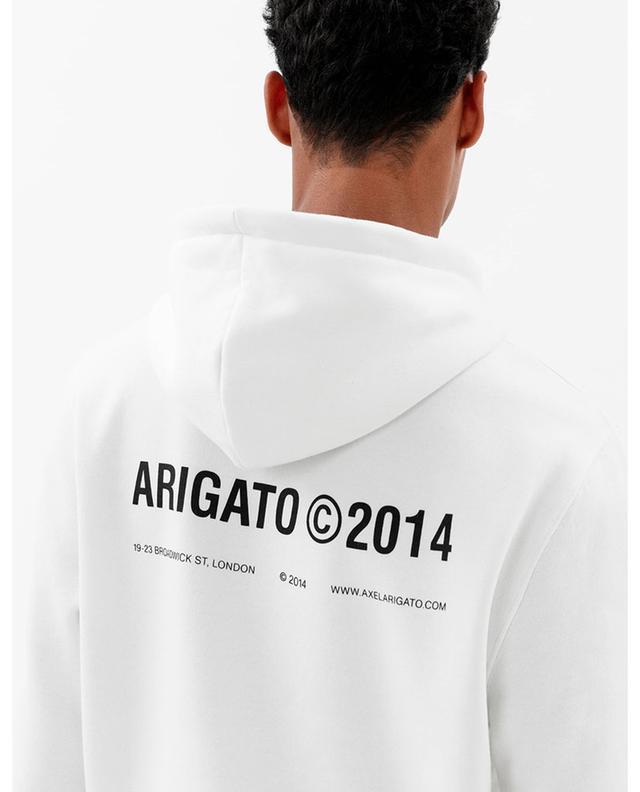 Sweat-shirt à capuche détail logo London AXEL ARIGATO