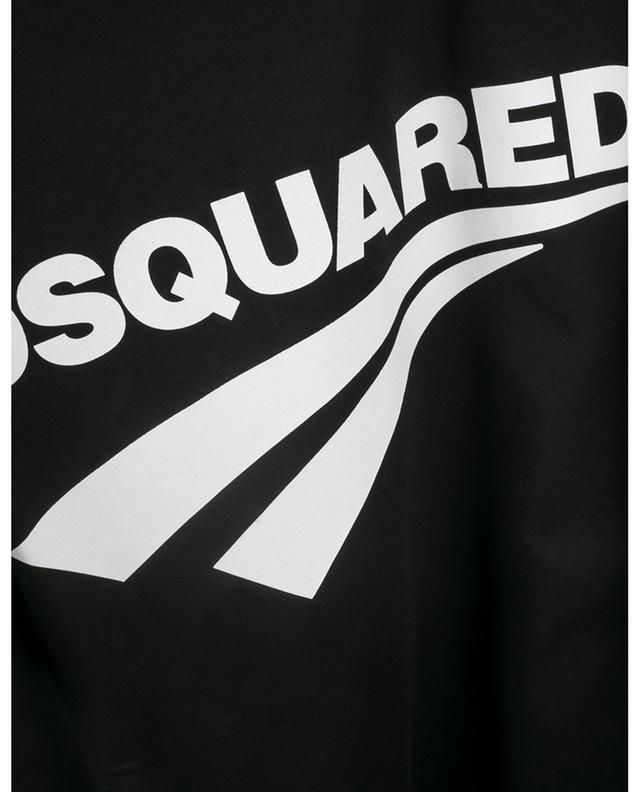 T-shirt imprimé logo D2 Cigarette DSQUARED2