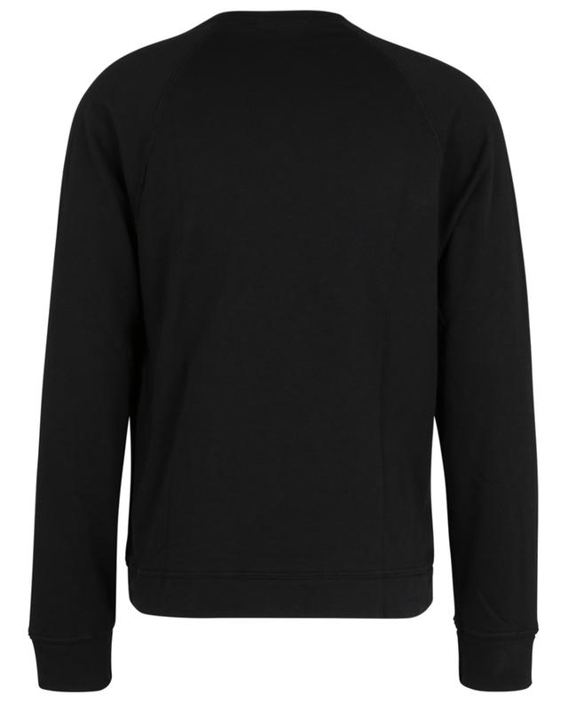 Sweat-shirt à col rond et manches raglan French Terry JAMES PERSE