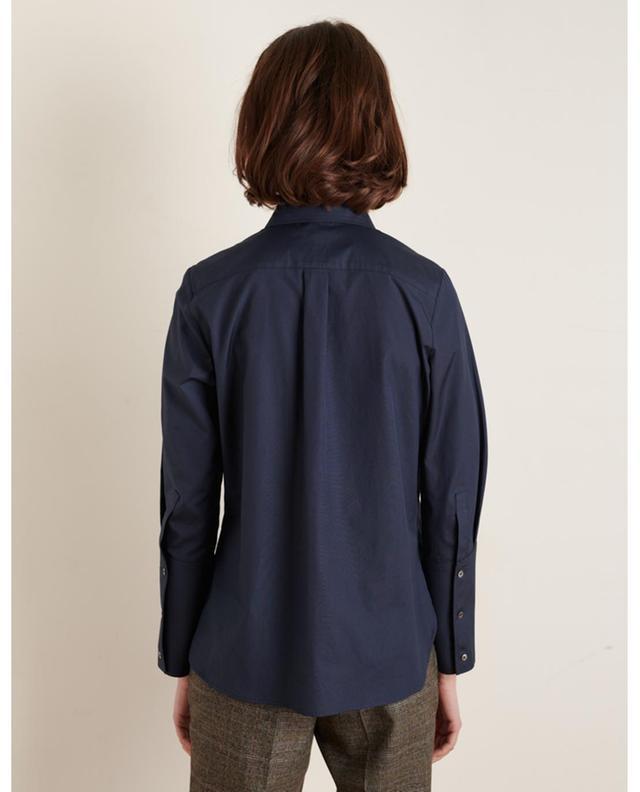 Chemise en popeline à manches longues Fedora HANA SAN