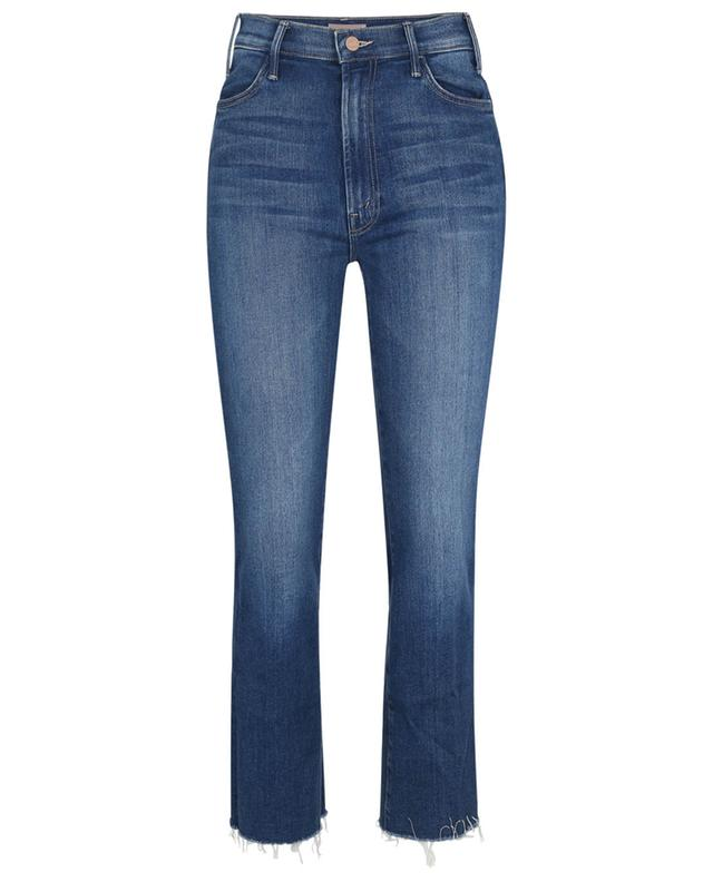 Jean taille haute The Hustler Ankle Fray Balls of Yarn MOTHER