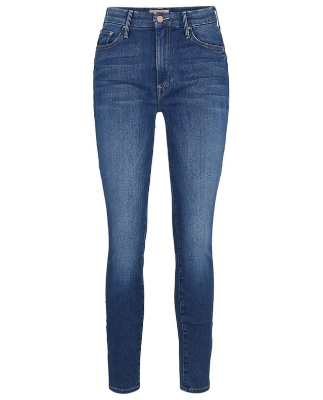 Jean skinny taille haute The Looker Balls of Yarn MOTHER