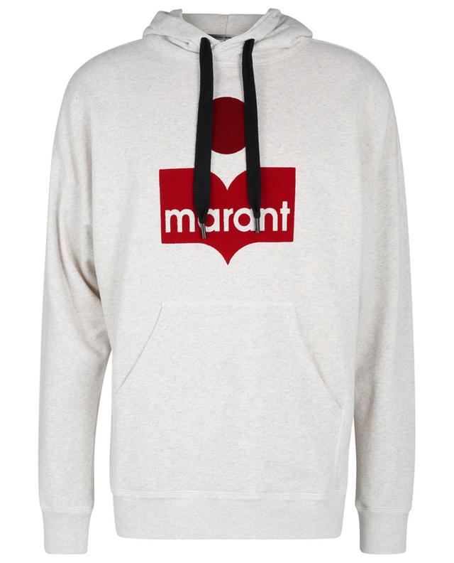 Sweat-shirt à capuche imprimé logo Miley ISABEL MARANT