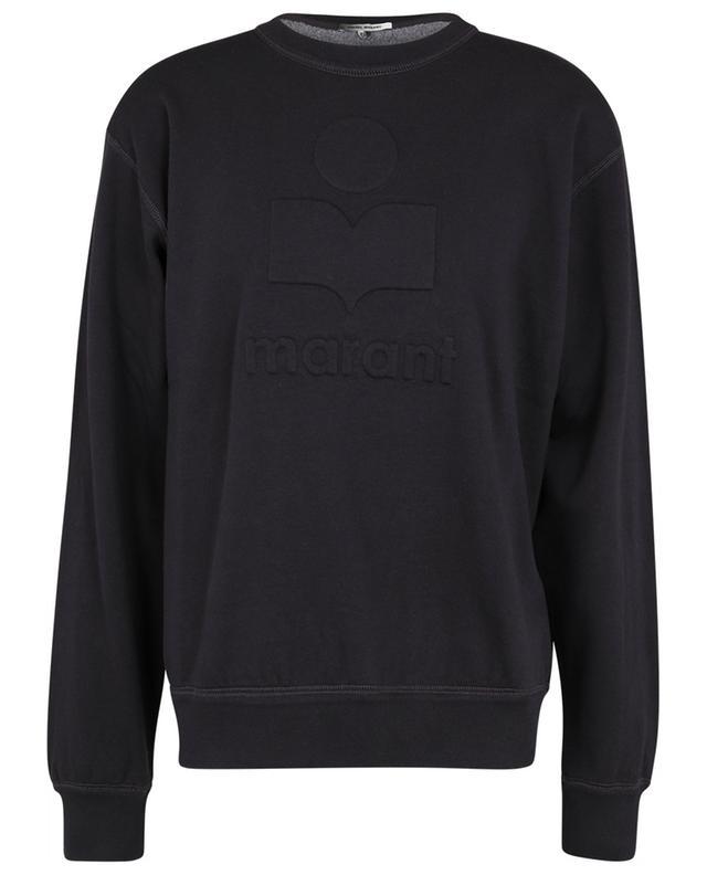 Sweat-shirt à col rond logo relief Miko ISABEL MARANT