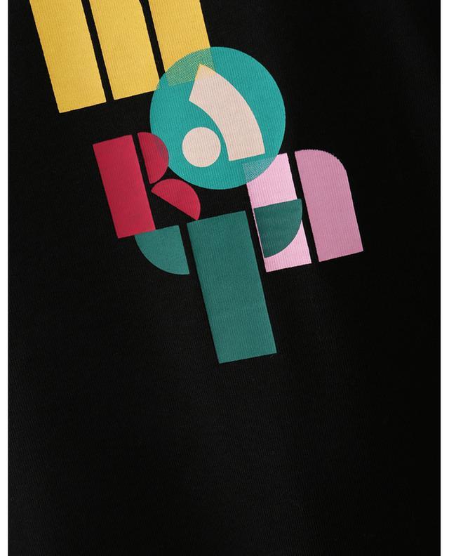 T-shirt imprimé logo multicolore Zafferh ISABEL MARANT