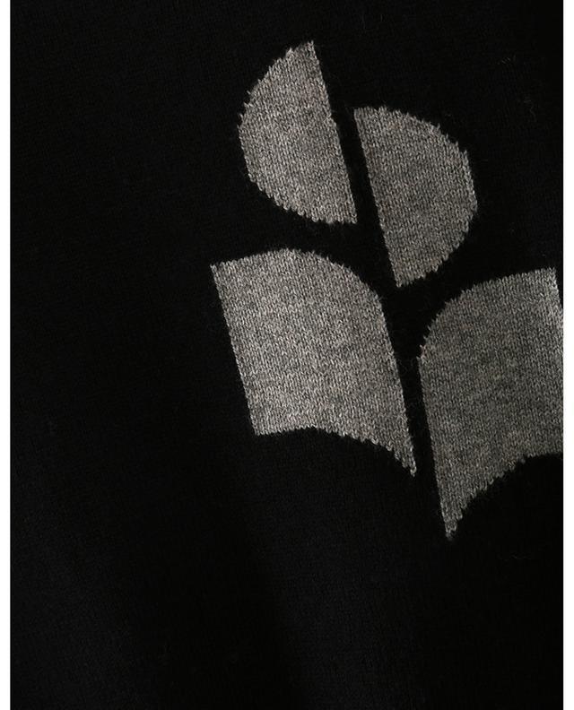 Pull ample orné d'une intarsia du logo Evans ISABEL MARANT