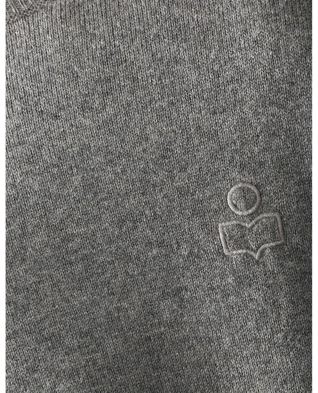 Pull fin à col rond brodé logo Elmy ISABEL MARANT