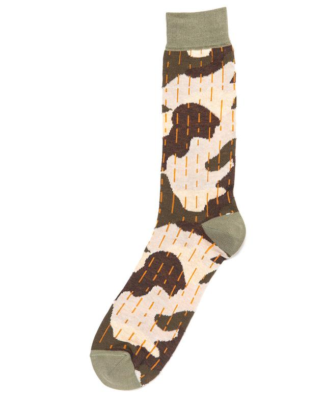 Chaussettes courtes motif camouflage Baobab ALTO