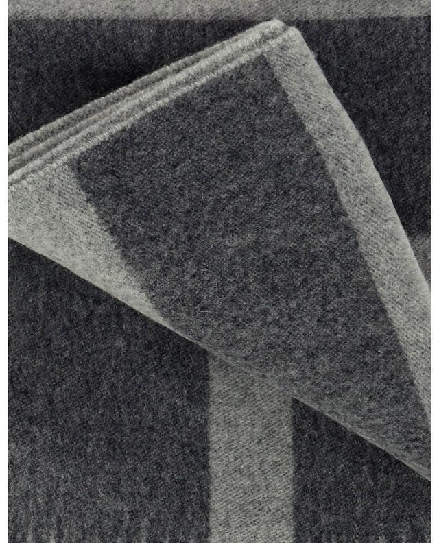 Écharpe en laine Monogram Jacquard TOTÊME