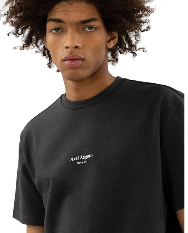 T-shirt imprimé logo en coton bio Focus AXEL ARIGATO