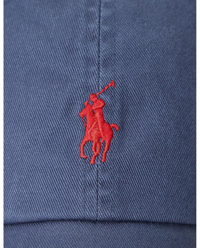 Casquette en coton chino brodée Pony POLO RALPH LAUREN