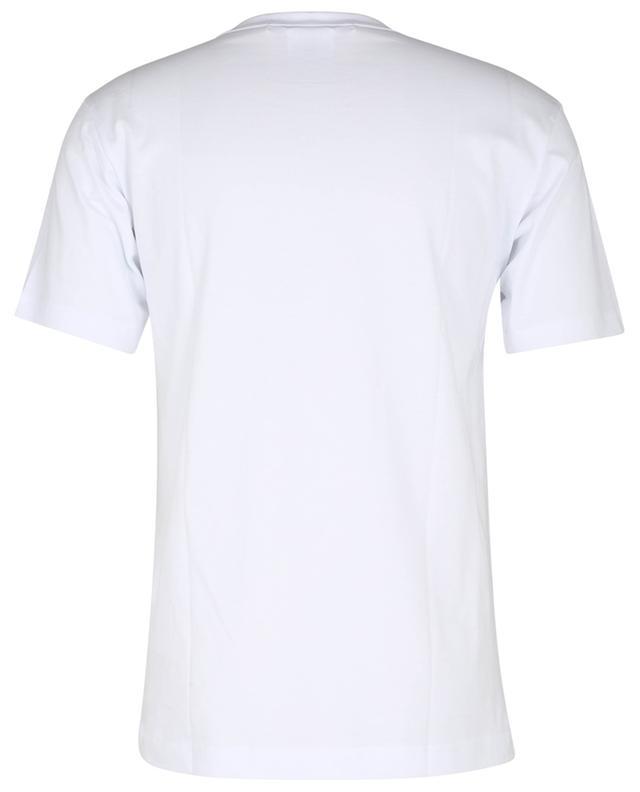 T-shirt à manches courtes et imprimé logo coloré KAWS COMME DES GARCONS SHIRT