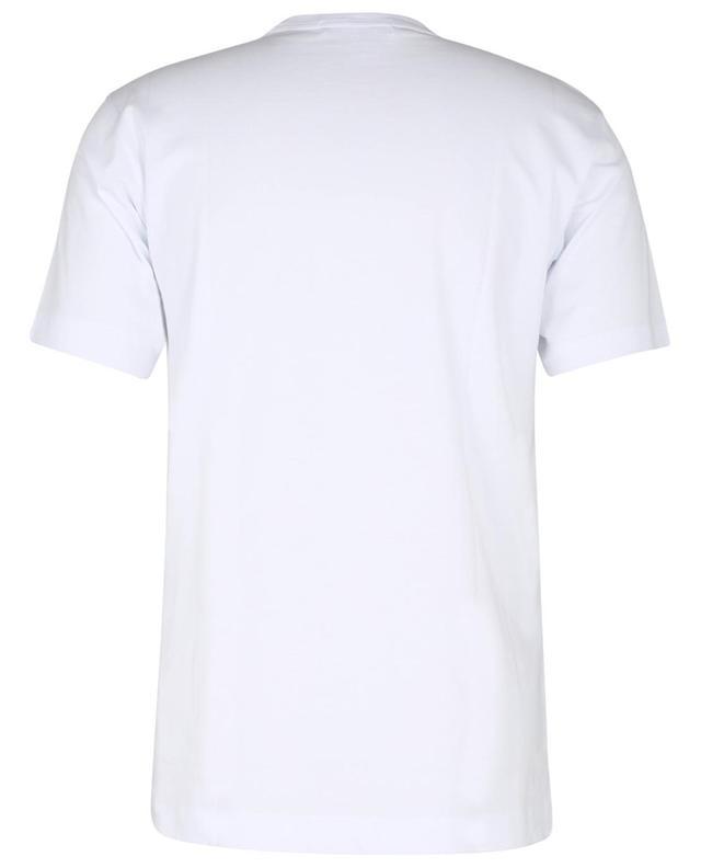 T-shirt à manches courtes imprimé logo graffiti KAWS COMME DES GARCONS SHIRT